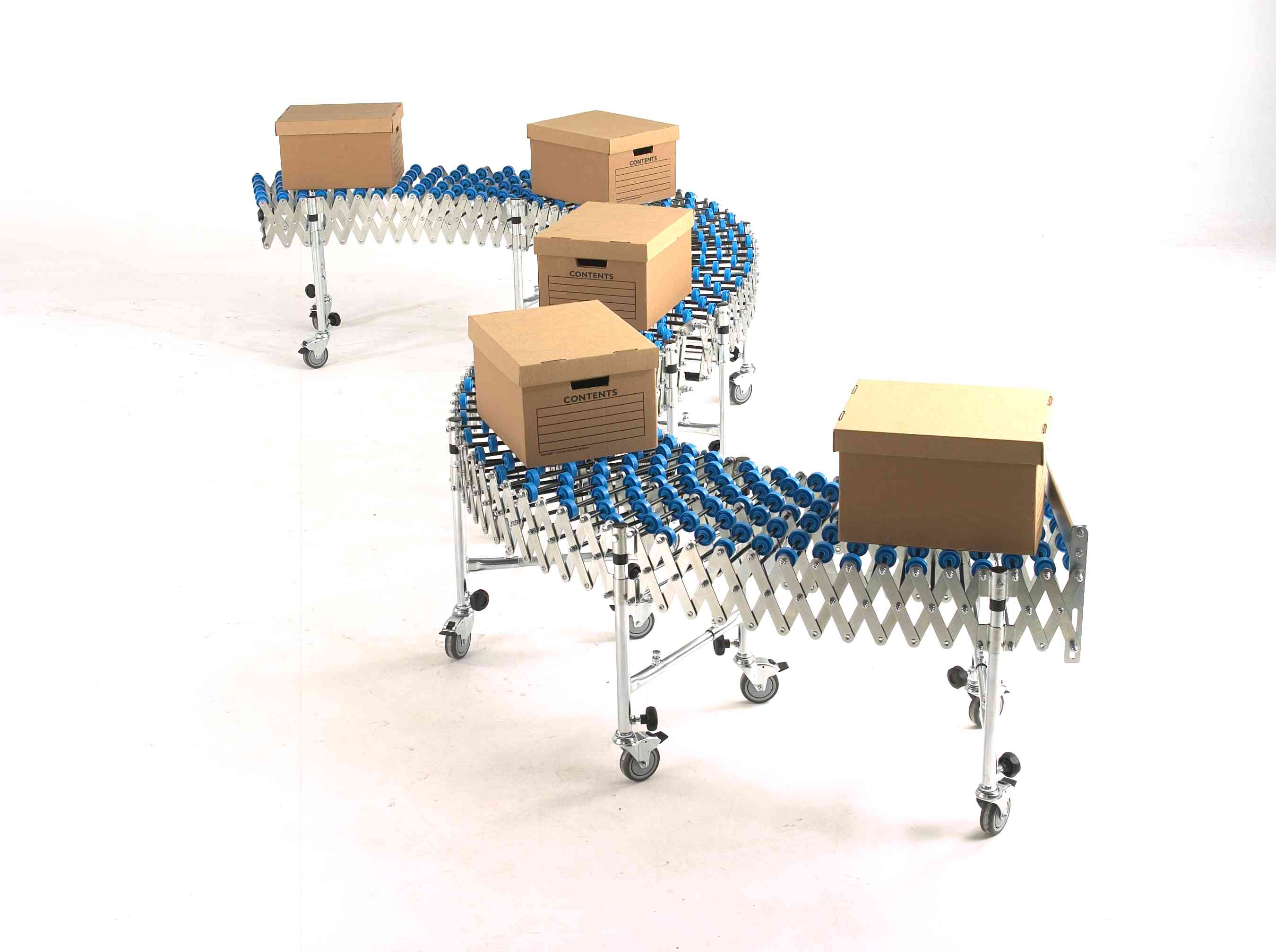 Package conveyors